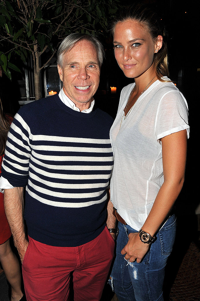 Bar Refaeli with Tommy Hilfiger.