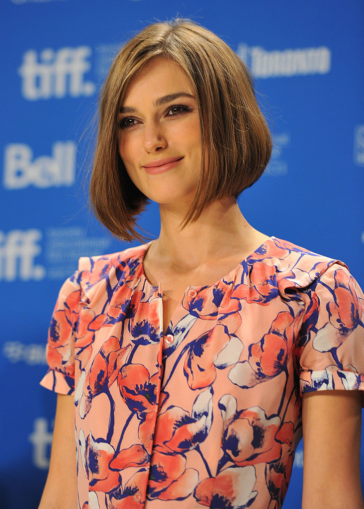 Keira Knightley promotes A Dangerous Method.