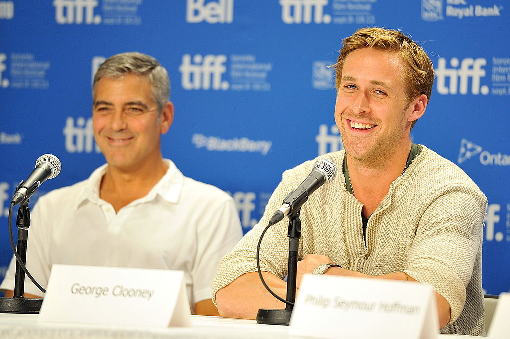 Ryan and George were all laughs during the press conference.
