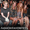 Celebrities at New York Fashion Week September 11, 2011