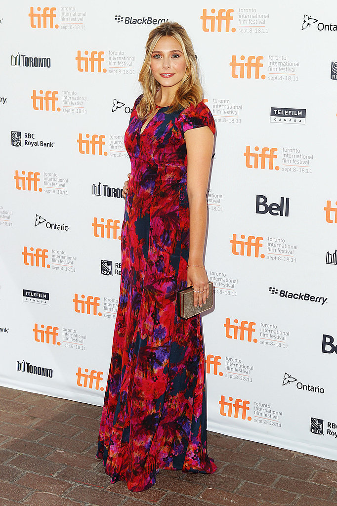 Elizabeth Olsen at the Toronto Film Festival