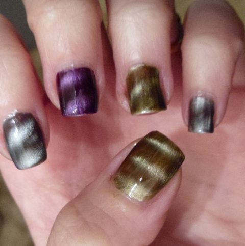 How to use magnetic nail polish