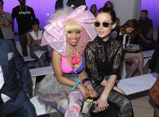 Nicki Minaj and Elettra Wiedemann