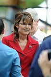 Sarah Palin at rally.