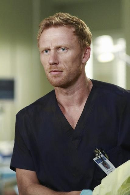 Kevin McKidd as Dr. Owen Hunt on Grey's Anatomy.  Photo copyright 2011 ABC, Inc.