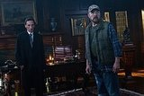 Jim Beaver as Bobby Singer and Julian Richings as Death on Supernatural.  Photo courtesy of The CW