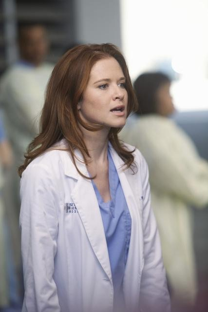 Sarah Drew as Dr. April Kepner on Grey's Anatomy.  Photo copyright 2011 ABC, Inc.