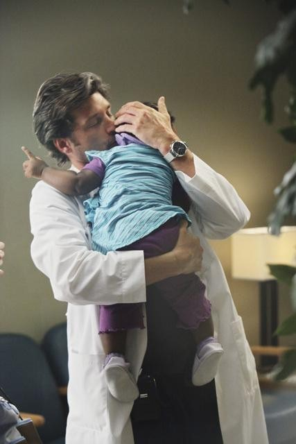 Patrick Dempsey as Dr. Derek Shepherd on Grey's Anatomy.  Photo copyright 2011 ABC, Inc.