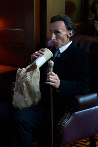 Julian Richings as Death on Supernatural.  Photo courtesy of The CW