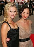 Reese Witherspoon and Christina Ricci arrived together for the 2006 premiere of Penelope.