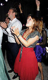 Princess Eugenie rocks out!