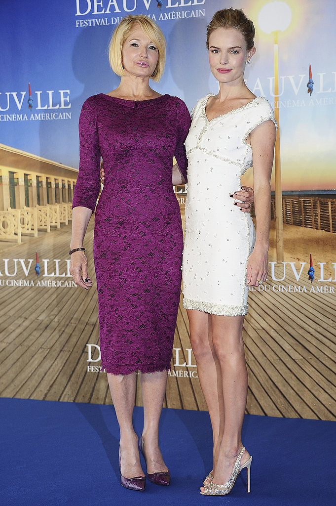 Ellen Barkin and Kate Bosworth at the premiere of Another Happy Day.