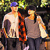 Ryan Gosling Pictures With Eva Mendes at Disneyland