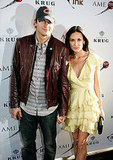Ashton Kutcher accompanied Demi Moore to the Joneses screening and afterparty in 2009.