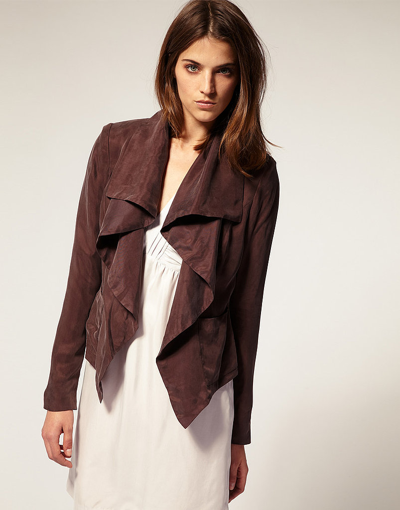 Vero Moda Very Washed Cupro Jacket ($156)