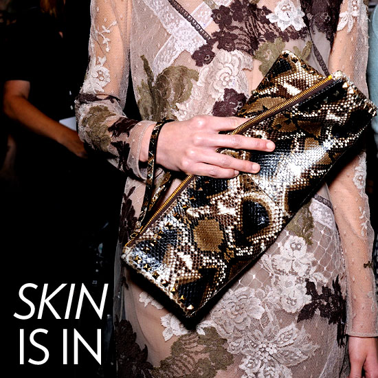 Shop Exotic Skin Bags For Fall 2011