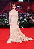 Jessica Chastain wore Elie Saab Couture at the Wild Salome premiere.