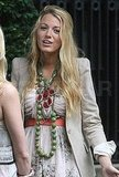 Gossip Girl put together a layered jewelry look for Blake's character, Serena.