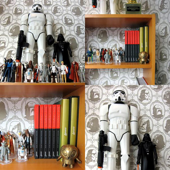 Paper Your Walls With Vader, Boba Fett, Stormtroopers