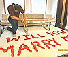 Video of Kris Humphries Proposing to Kim Kardashian With Rose Petals on Keeping Up With the Kardashians