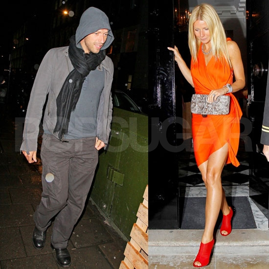 Chris Martin Joins Gwyneth Paltrow at Her Special Coach Dinner
