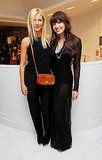 Gwyneth Paltrow and Daisy Lowe posed at Coach's Fashion's Night Out party in London Thursday.
