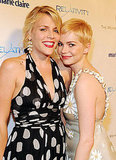Busy Philipps joined Michelle Williams at a Golden Globes afterparty thrown by the Weinstein Company in January 2011.