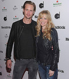 Alexander Skarsgard and his True Blood castmate Kristin Bauer.