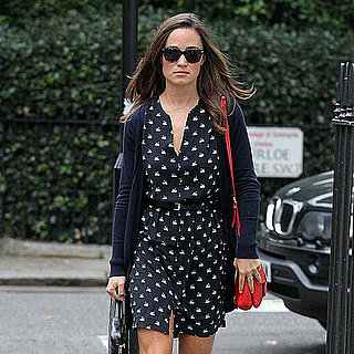 Pippa Middleton London Pictures as Kate Denies Pregnancy