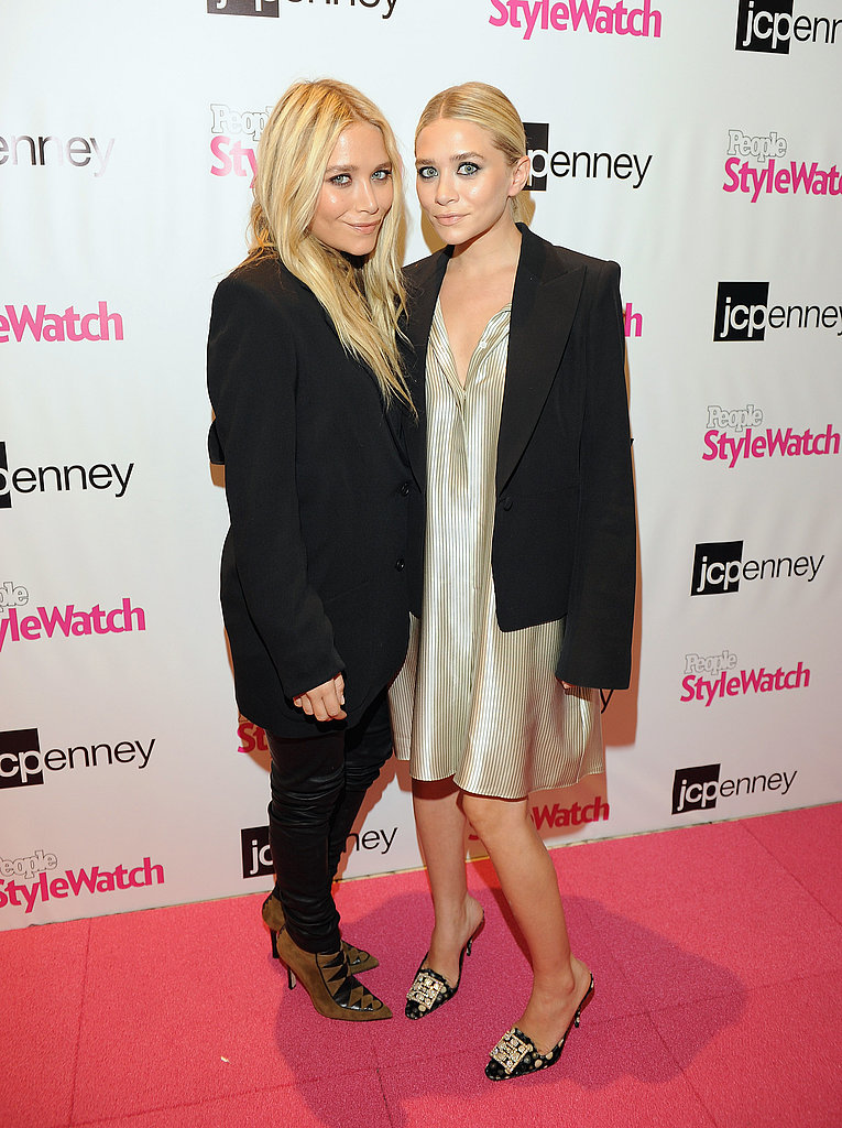 Mary-Kate Olsen and Ashley Olsen stopped by JCPenney's.