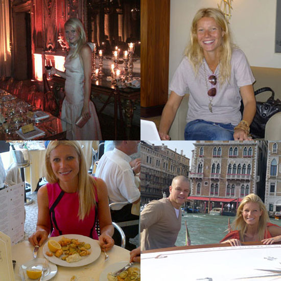 Gwyneth Paltrow Shares Her Behind-the-Scenes Scrapbook of the Venice Film Festival