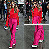 Sarah Jessica Parker Wearing Prabal Gurung in NYC 2011