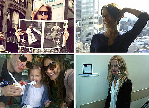 Top Ten Pictures of Celebrities On Twitter: Rachel Zoe, Dannii Minogue, Alessandra Ambrosio & More