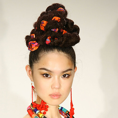 Fabric Braids at Mara Hoffman Spring 2012 Fashion Week