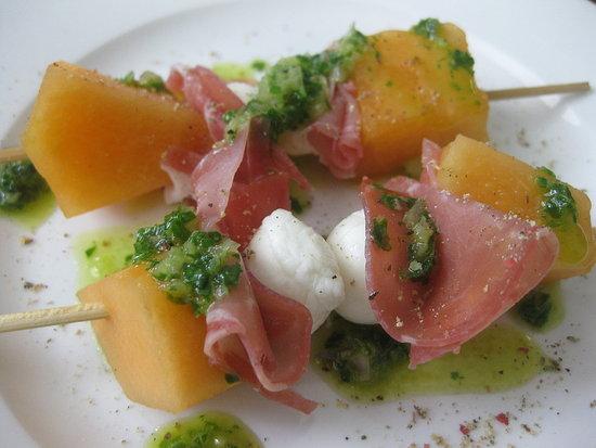 Melon Brochettes