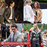 Christian Bale, Scarlett Johansson, Robert Downey Jr., and More Stars on Set This Week!