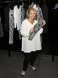 Katie Couric checked out the collection at Dolce & Gabbana.
