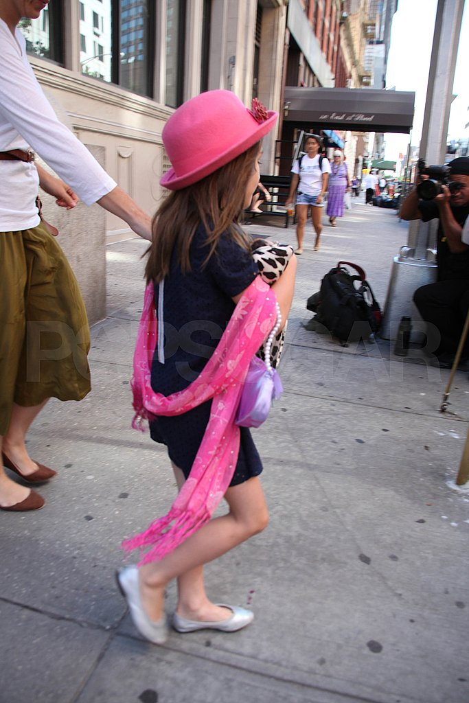 Katie Holmes and Suri Bring Their Street Style Out in NYC