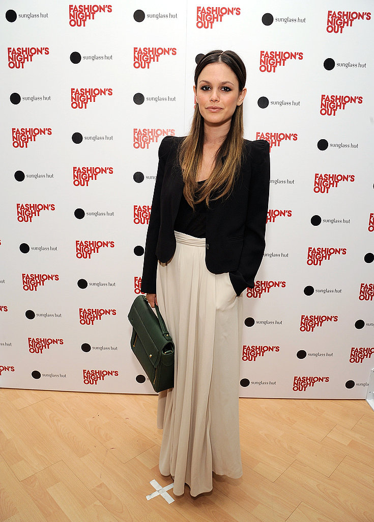 Rachel Bilson on Fashion's Night Out.