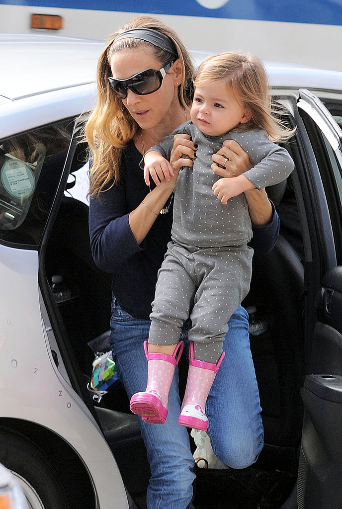 Sarah Jessica Parker Follows Up Her Fashionable Night With Family Time