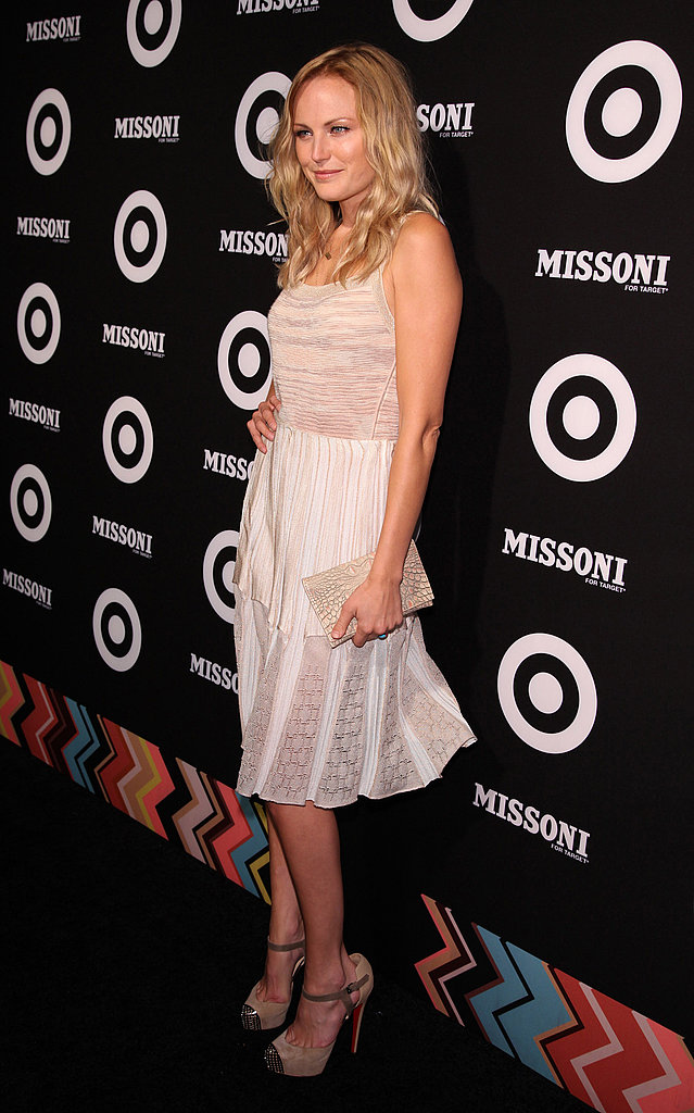 Malin Akerman was out for Missoni for Target in NYC.