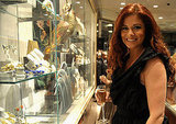 Debra Messing checked out jewelry at Fred Leighton.