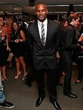 Tyson Beckford partied in NYC during New York Fashion Week.