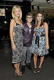 Brooklyn Decker, Justin Beiber, and Bee Shaffer got together on Fashion's Night Out.
