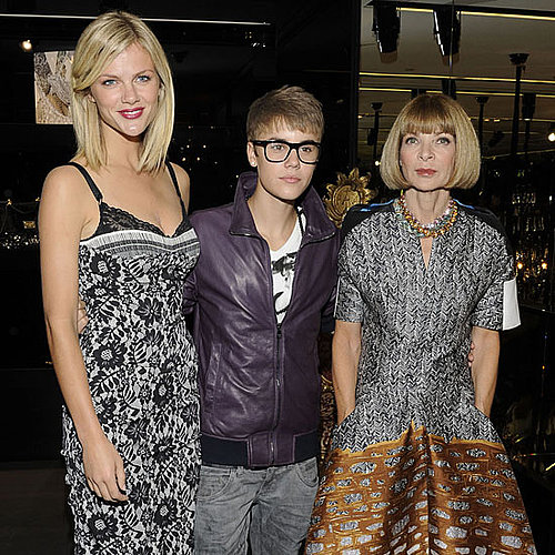 Justin Bieber Fashion's Night Out Pictures With Brooklyn Decker