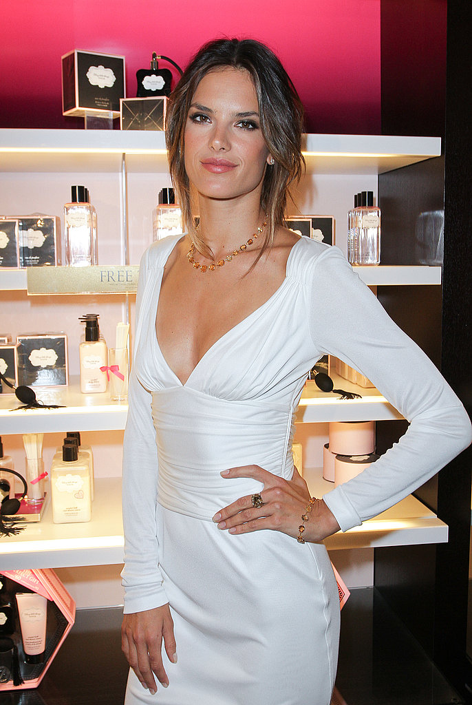 Alessandra Ambrosio at Victoria's Secret.