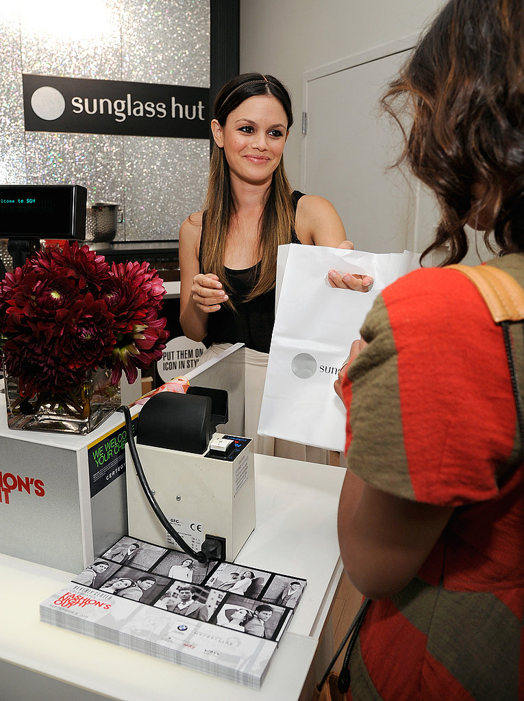 Rachel Bilson shopped on Fashion's Night Out.