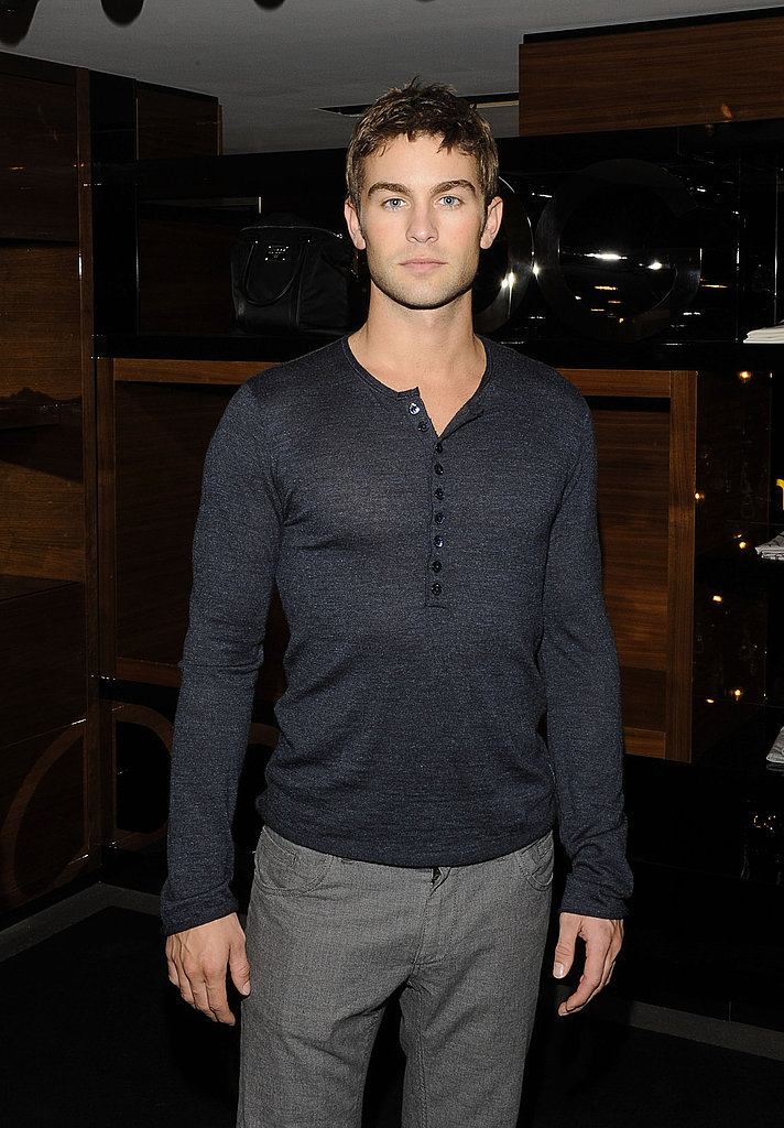 Chace Crawford in NYC.
