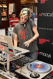 Samantha Ronson provided the soundtrack to Macy's Fashion's Night Out party.