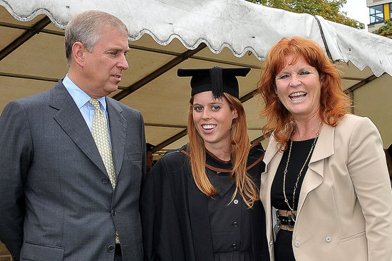 Prince Andrew and Sarah Ferguson with daughter Princess Beatrice.